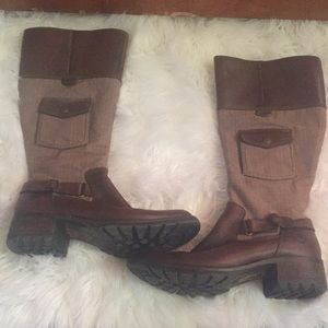 TIMBERLAND wide calved size 9 boots